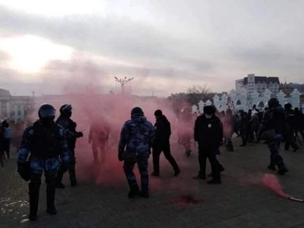 Сообщения о несогласованных акциях в Забайкалье начали появляться в соцсетях