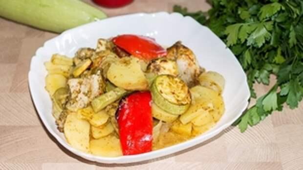 Фото к рецепту: Ленивый ужин в рукаве без хлопот