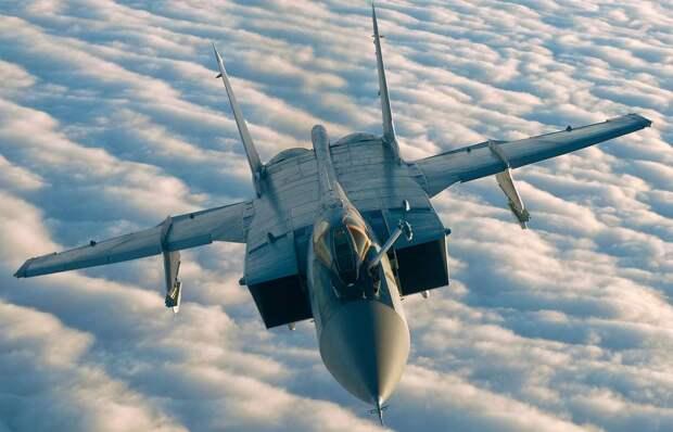 Истребитель-перехватчик МиГ-31 Минобороны РФ
