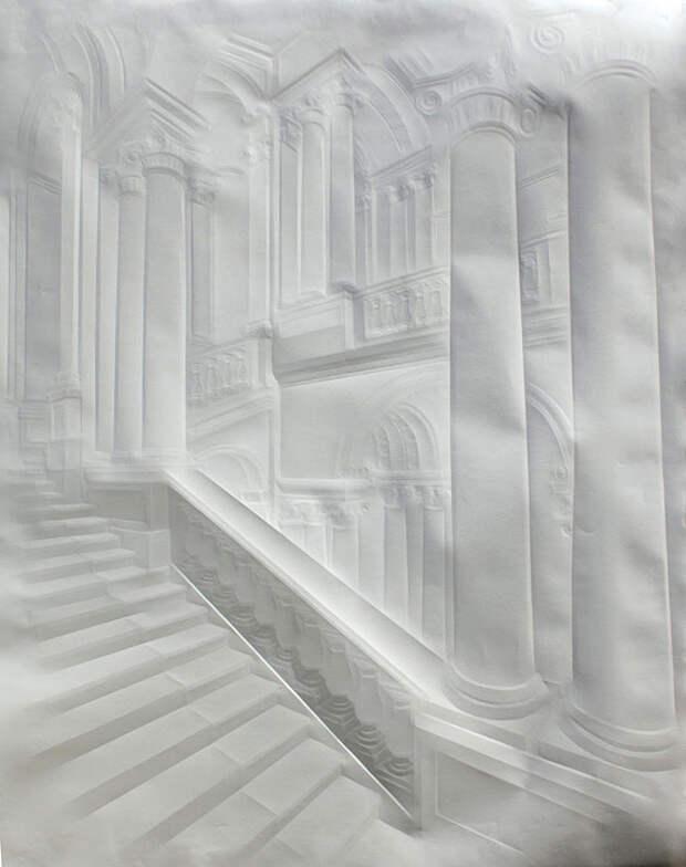 Бумажный арт Саймона Шуберта