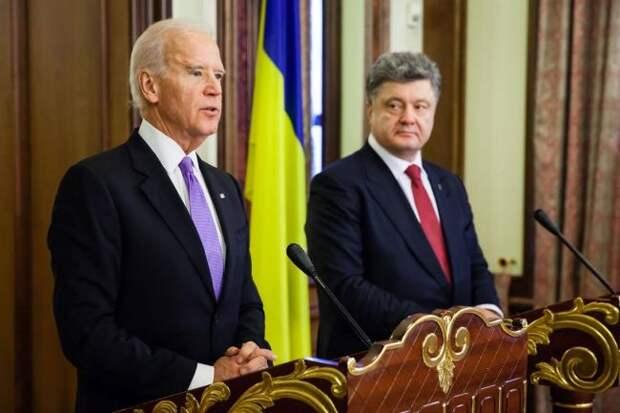 Украинский политик предложил допросить иБайдена вместе сПорошенко