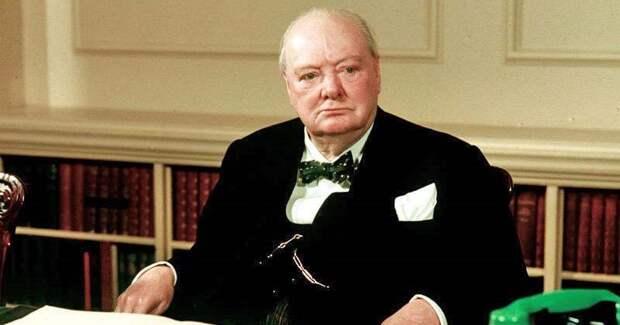 Фуа-гра, устрицы, коньяки, сигары: чем баловал себя Уинстон Черчилль во времявойны