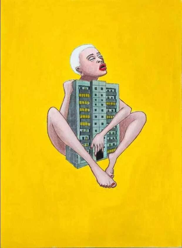 Наивный поп-концептуализм. Sasha Look