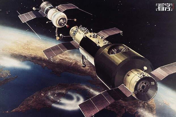 Сегодня исполнилось 50 лет с момента запуска «Салют-1» — первой в мире орбитальной станции