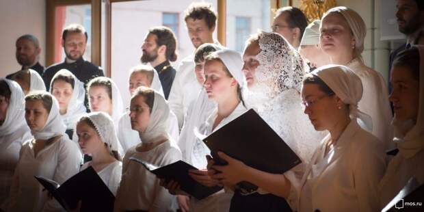 В храме Всех Святых на Соколе начался набор в учебный церковный хор