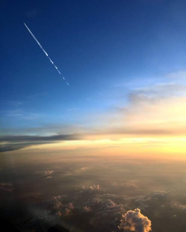 Оказывается, пилоты пассажирских авиалайнеров— лучшие фотографы