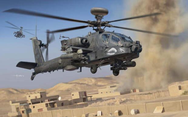 Опубликовано видео странного поведения вертолета США в Сирии