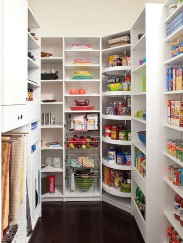 Удобное хранение продуктов на кухне: фото идеи 04