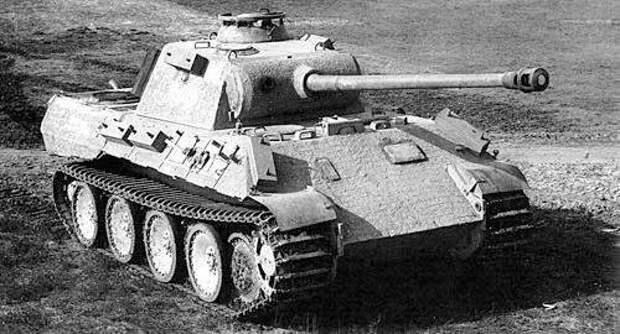 """Немецкий тяжелый танк Pz.V Т-5 """"Пантера"""" вов, дуэль, история"""