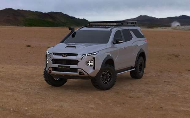 Hyundai планирует выпуск рамного внедорожника