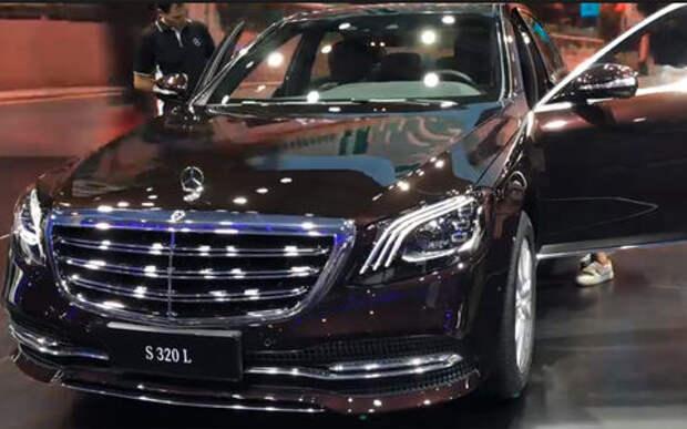 S-класс с «пакетом сока»: представлен седан Mercedes-Benz с 2-литровым мотором
