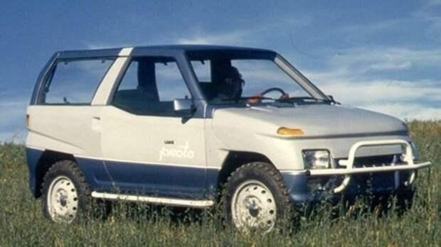 """НАМИ-ЛуАЗ """"Прото"""". В 1989 году машина имела все шансы стать серийной моделью. СССР, авто, фото"""