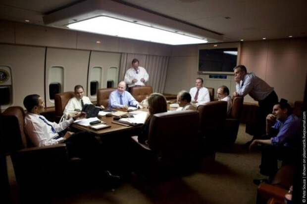 Самолет Обамы