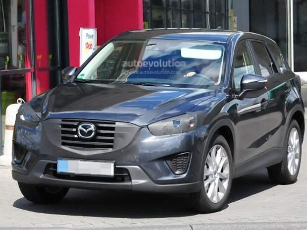 В Германию прибыл обновленный кроссовер Mazda CX-5