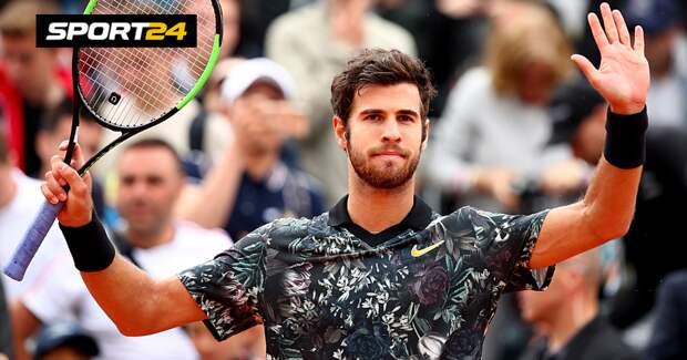 Хачанов вышел в четвертьфинал турнира в Мельбурне, победив Андерсона
