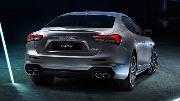Дебют с опозданием: компания Maserati представила свой первый гибрид