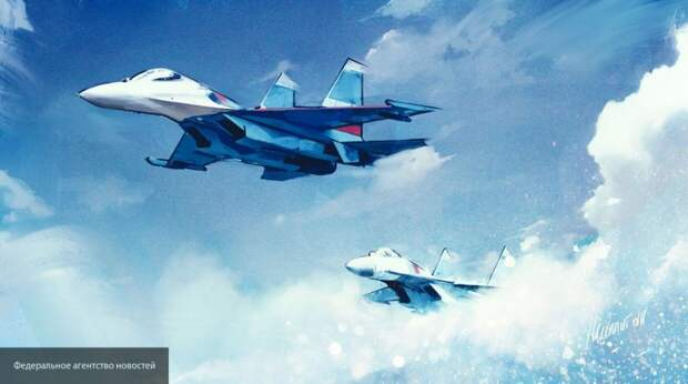 """ВВС США назвали """"небезопасным"""" перехват B-52 российскими Су-27"""