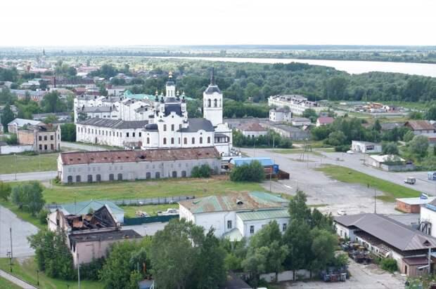 Прекрасный Тобольск в далёкой Сибири