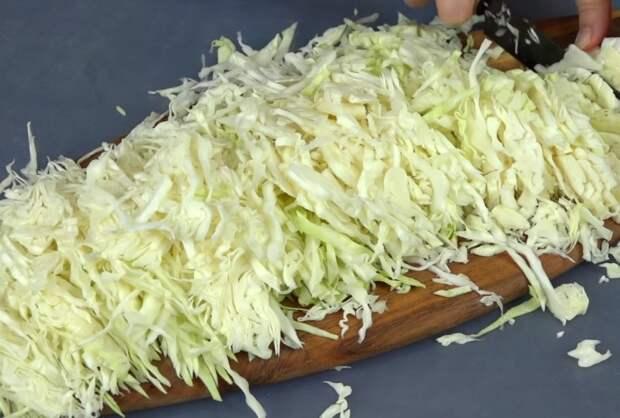 рецепт ленивых голубцов с капустой и фаршем