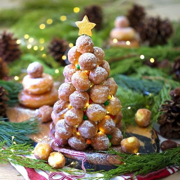 Праздничный Крокембуш к новогоднему столу