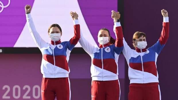 В шаге от золота: россиянки заняли второе место на олимпийском турнире по стрельбе из лука