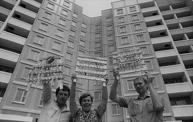 За время правления Брежнева бесплатные квартиры получили 164 миллиона человек