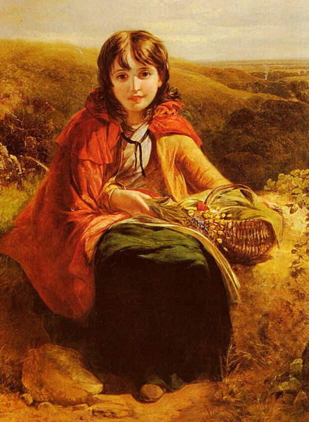 Francis John Deffett. Красная Шапочка/ Little Red Riding Hood
