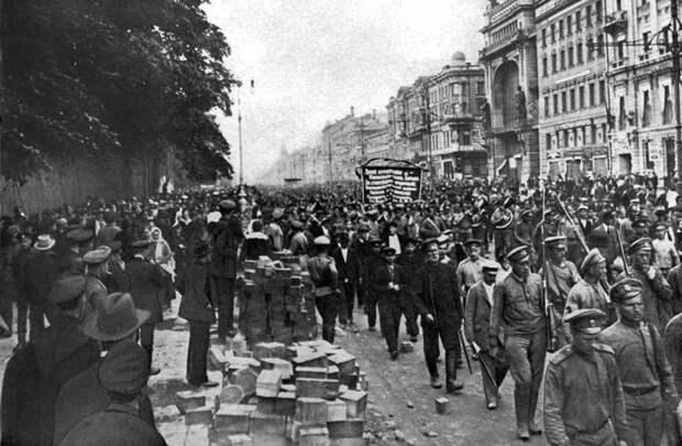 Невский проспект 1917/2017 время, история, люди, прошлое, революция, событие