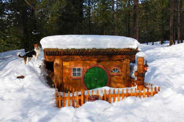 Дома хоббитов 10 примеров созданных по новеллам Джона Толкиена