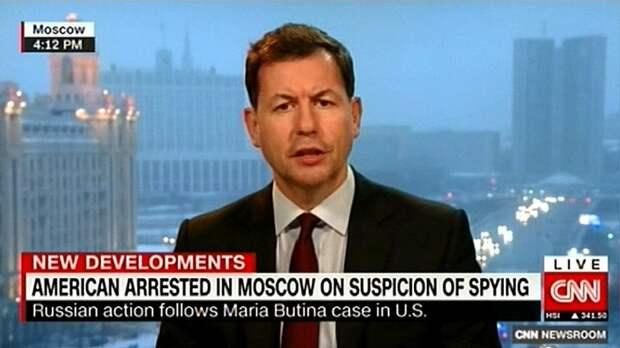 CNN: задержание американца в Москве — очередной эпизод «шпионской войны»