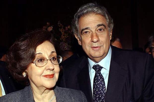 Любимая женщина Пласидо Доминго