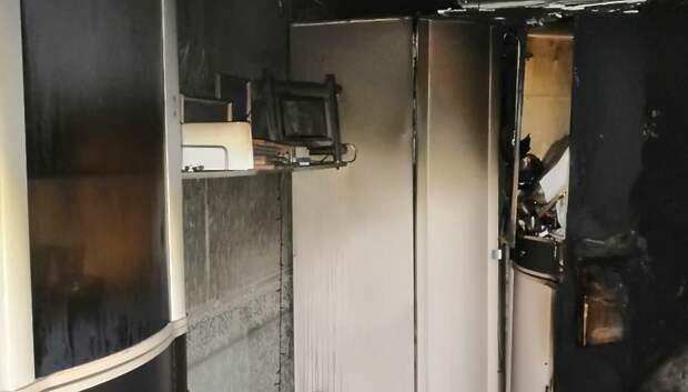 В Подольске из‑за скачка напряжения сгорела квартира