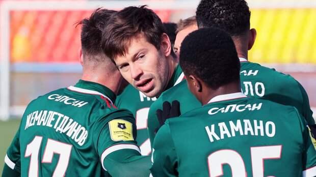 Смолов вернулся: выскочил на замену, красиво забил в девятку и отдал голевую на Мурило