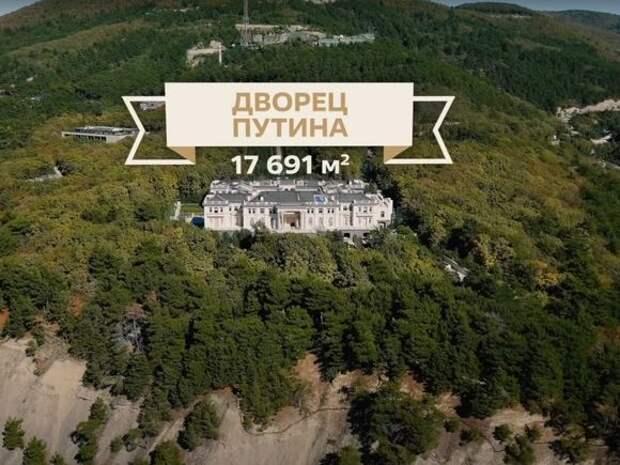 Россияне предложили Путину отдать «его дворец» детям