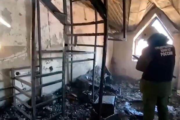 Страшный пожар вАнапе мог начаться из-за перепланировки квартиры под сауну