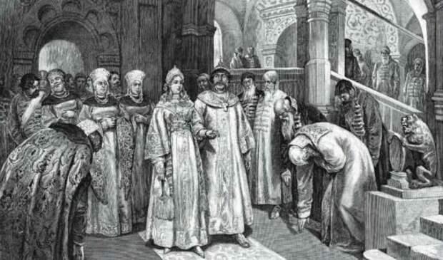 Елена Глинская стала регентшей при малолетнем сыне после смерти мужа