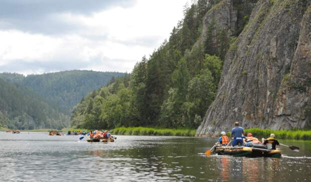 ВБашкирии спасли троих туристов вовремя сплавов порекам