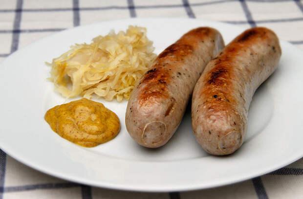 Вкуснейшие колбаски, которыми гордится Германия