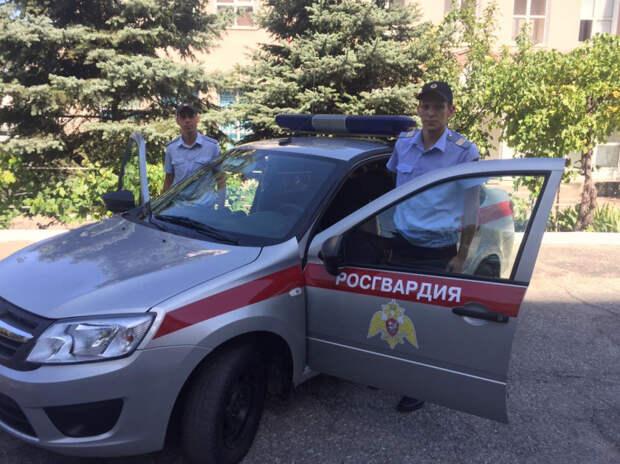 Новороссийские росгвардейцы спасли малыша