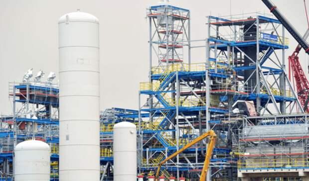 «Газпром» хочет производить СПГ наАмурском ГПЗ
