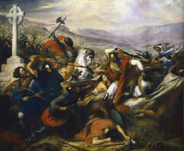 Вечно сражающийся «почти король» франков (2 статьи)