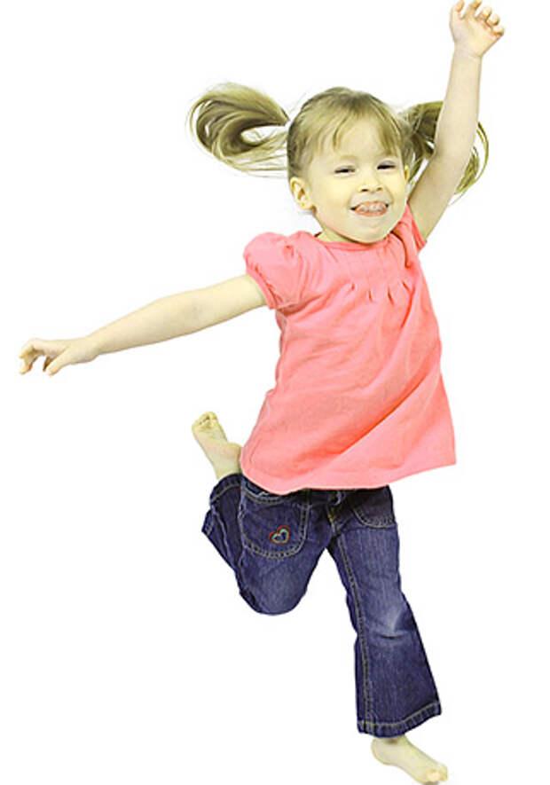 Детский мир. Упражнения для развития крупной моторики
