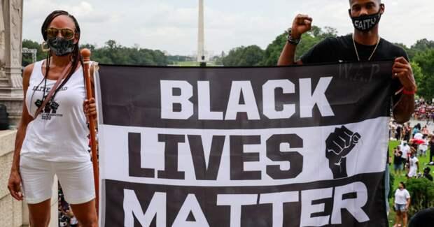 В столице США прошла массовая акция протеста против расизма (фото, видео)