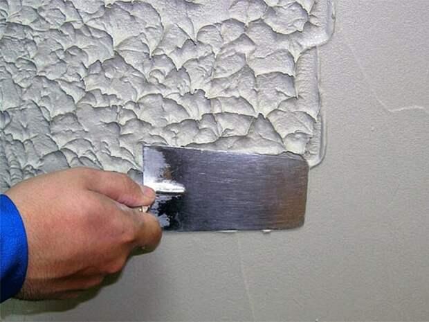 Итак, фактурные стены можно сделать любыми способами. Например, при помощи любых приспособлений, находящихся под рукой Фабрика идей, красиво, креативно, полы, своими руками, стены, фактура