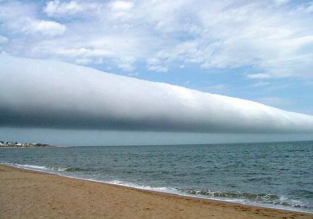 Утренняя глория – одна из форм разумных облаков