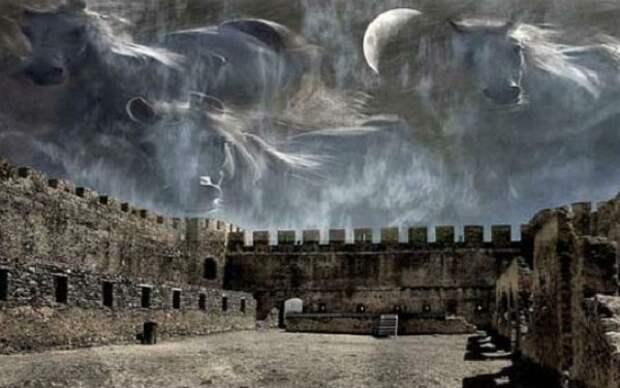 Хрономиражи: Небесные сцены кровавых сражений из прошлого