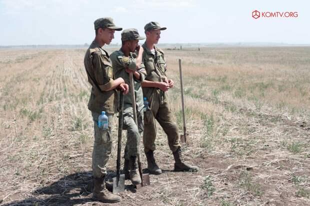 В Ленинском районе провели «Вахту памяти» по поиску неопознанных солдат ВОВ 2