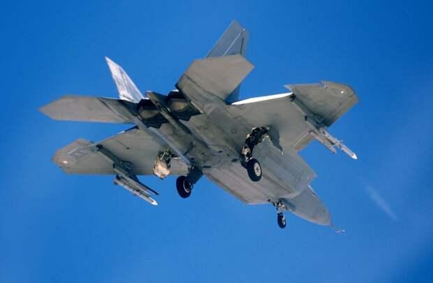 Американский истребитель F-22А