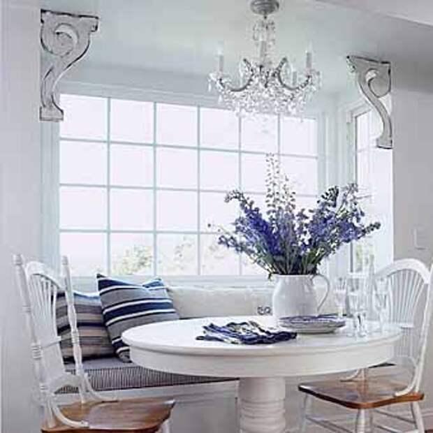окно на кухне интересные идеи размещения мебели
