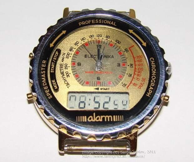 Вот такой вот экспортный гибрид наручных часов с электронными СССР, гаджет, история, стиралка, техника, факты